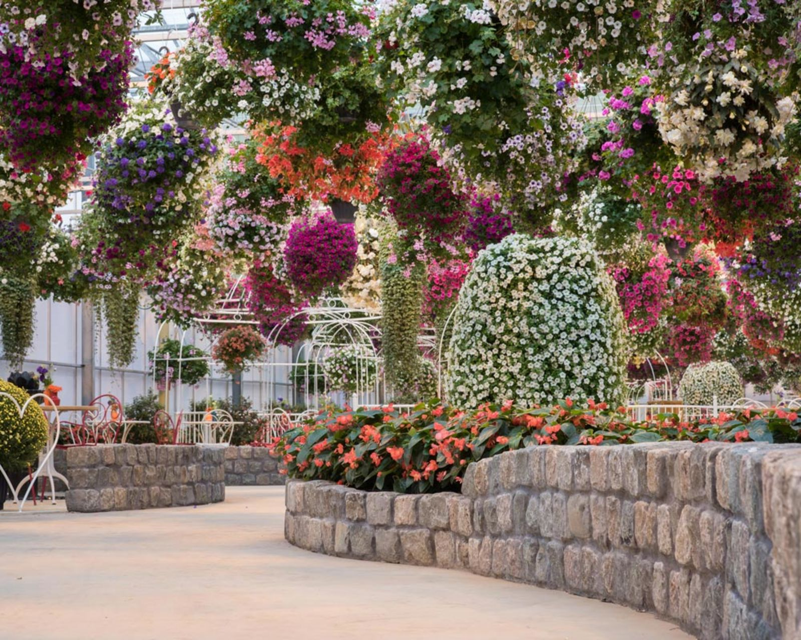 De zwevende bloementuin huwelijk for Www bloem en tuin nl
