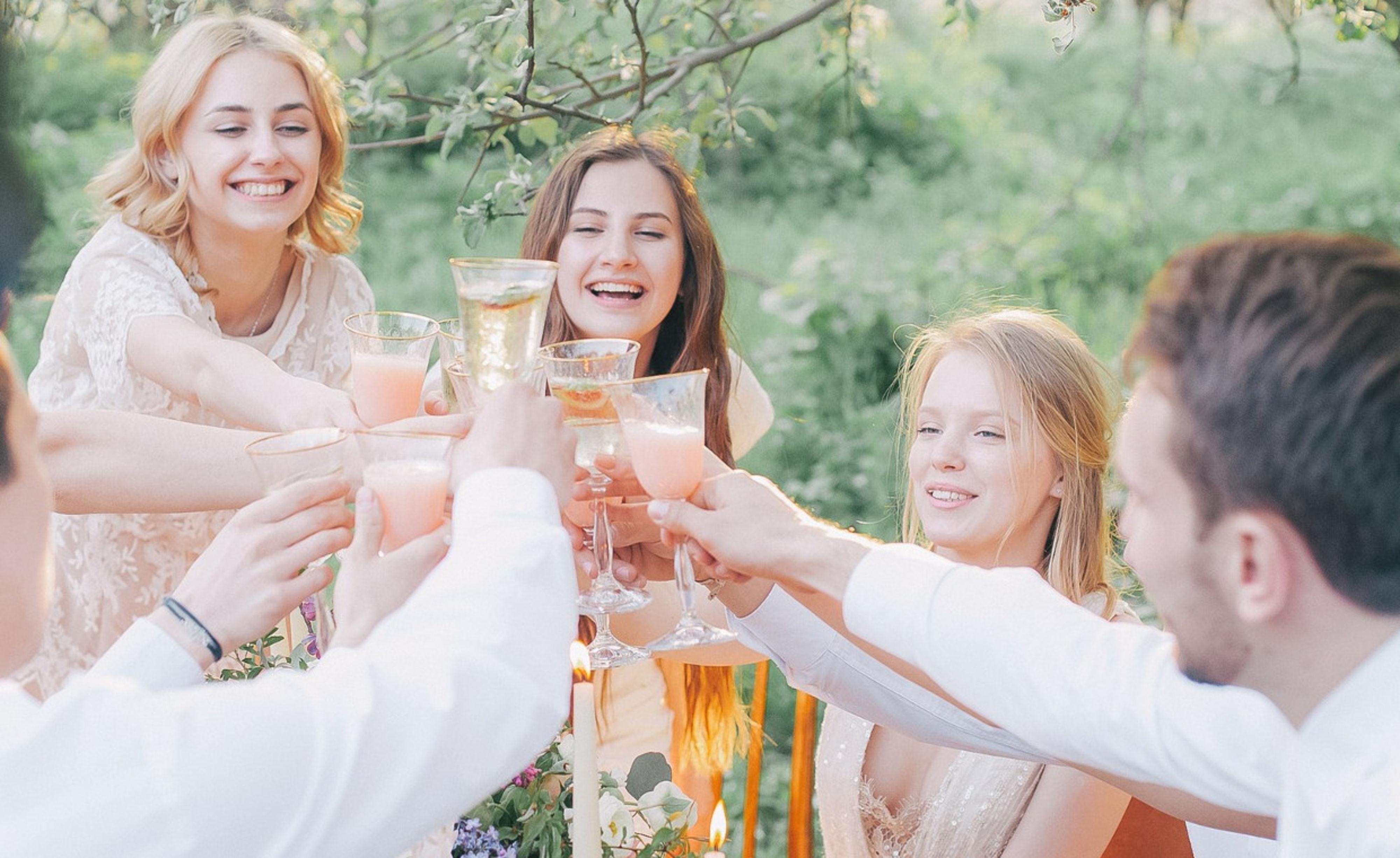 Proosten bruidspaar