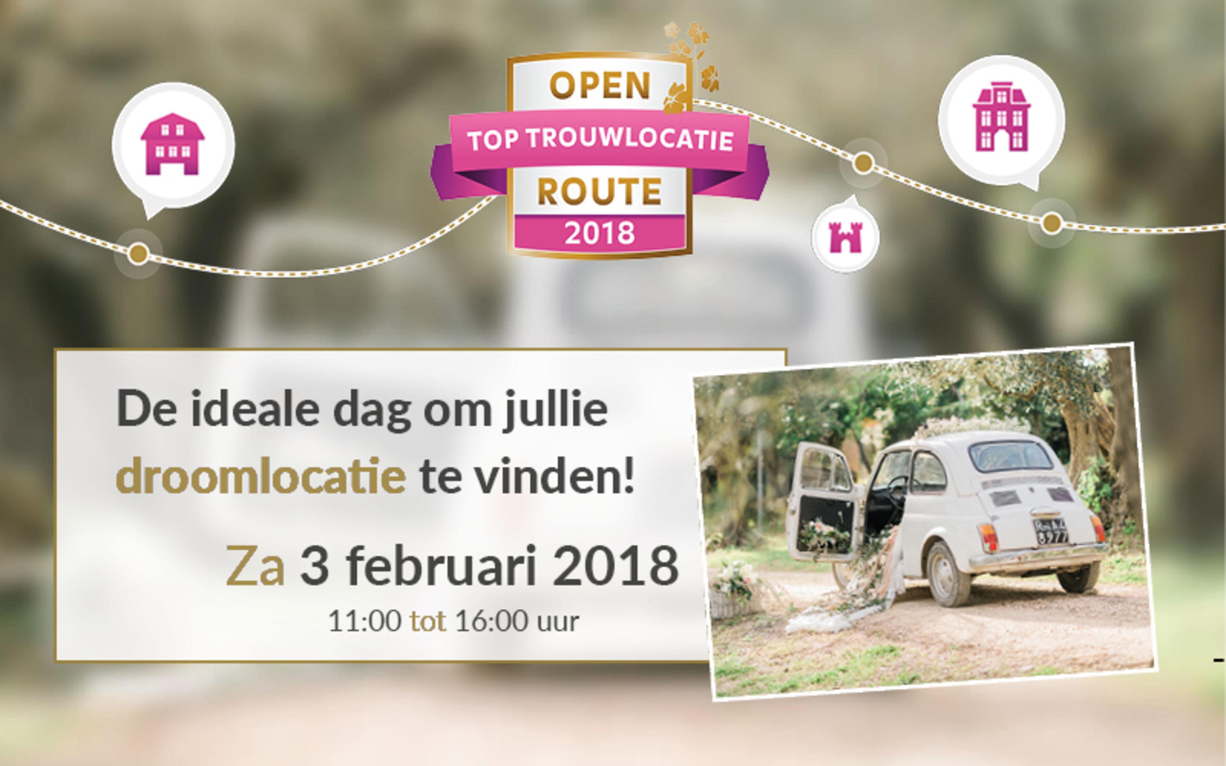 Open Trouwlocatie Route Wolfslaar