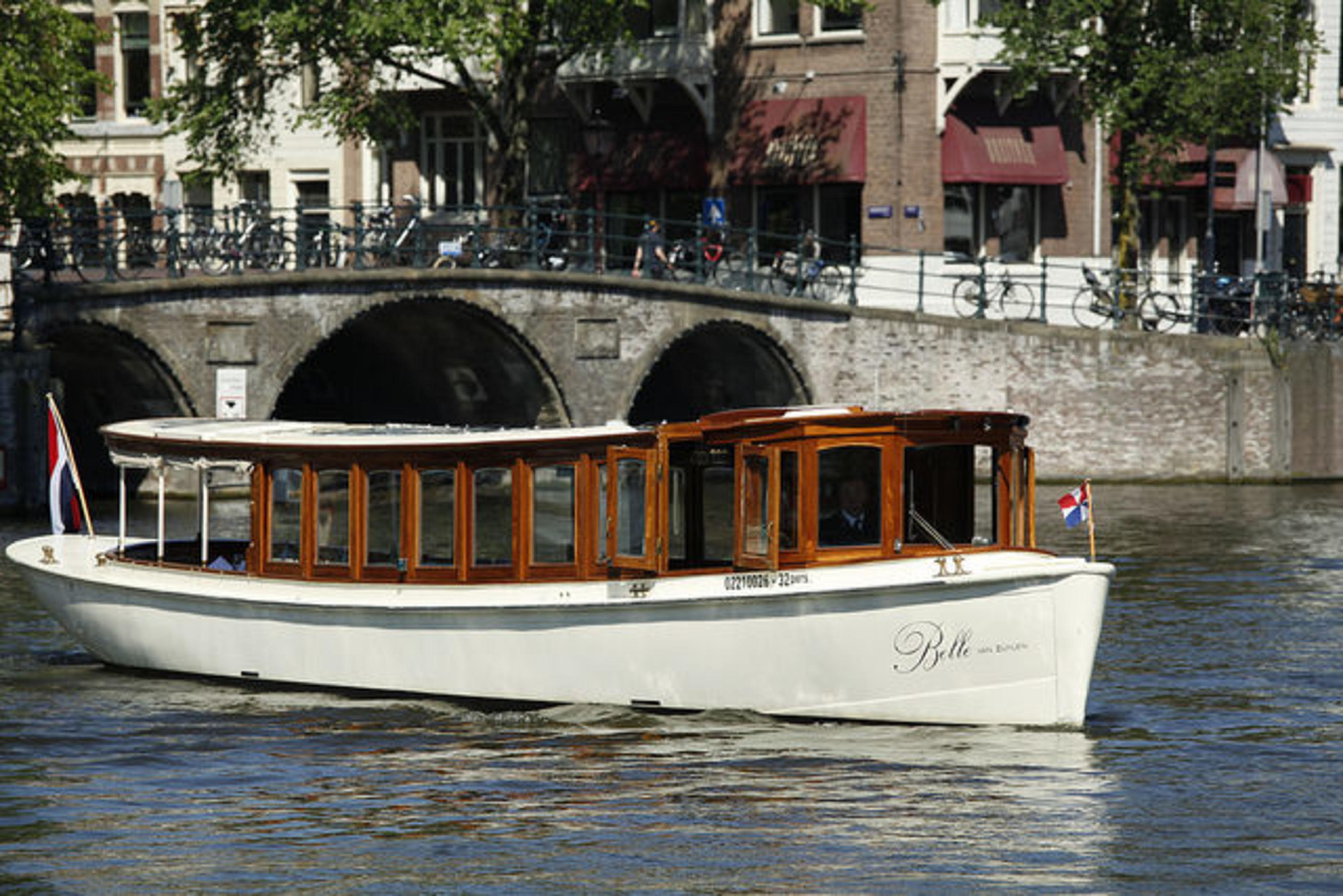 Trouwen Amsterdamse Grachten