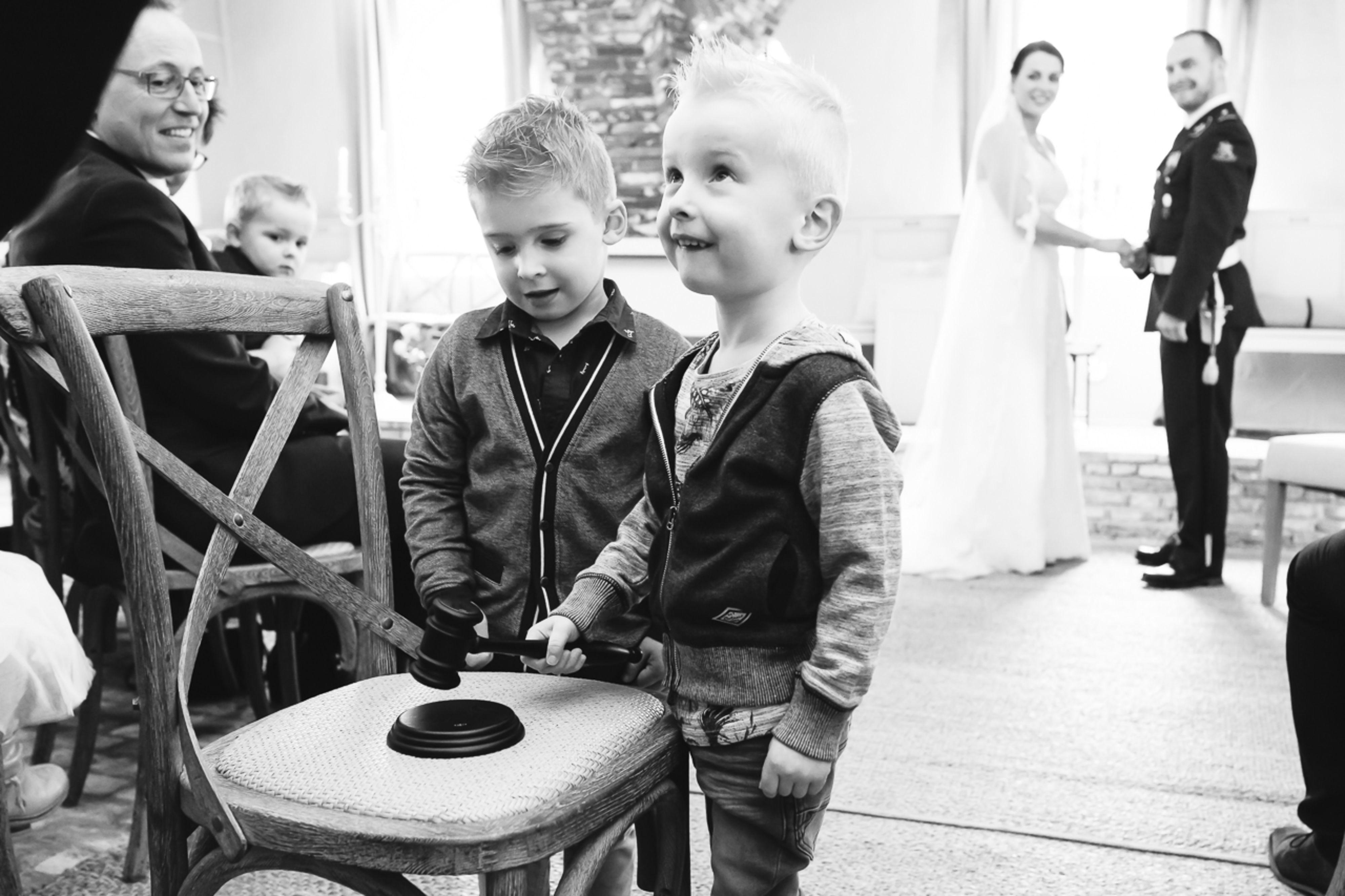 Kinderen op jullie bruiloft