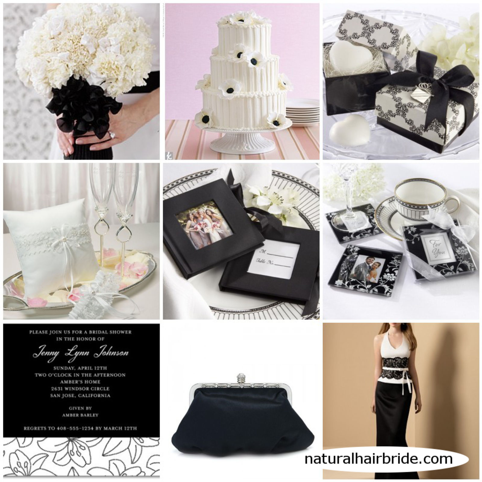 black white wedding ideas: Zwart-wit Als Trouwthema « Huwelijk