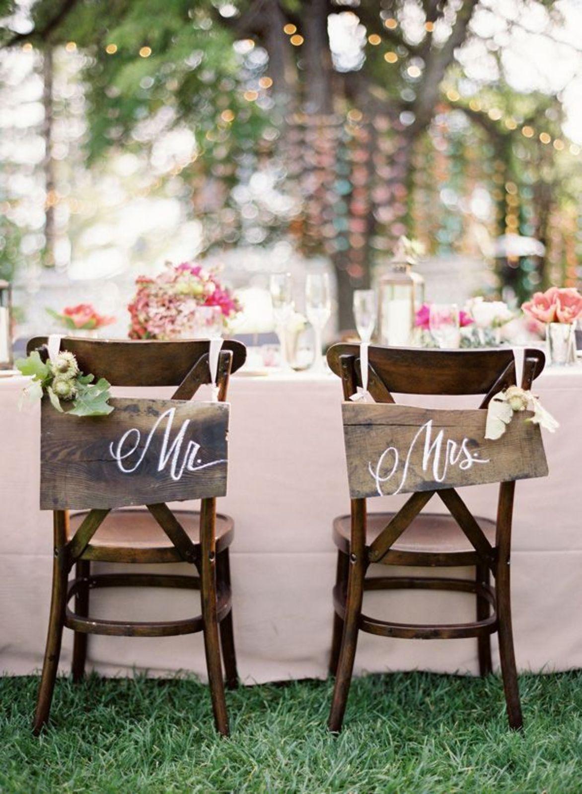 Stoeldecoraties voor de grote dag Â« huwelijk