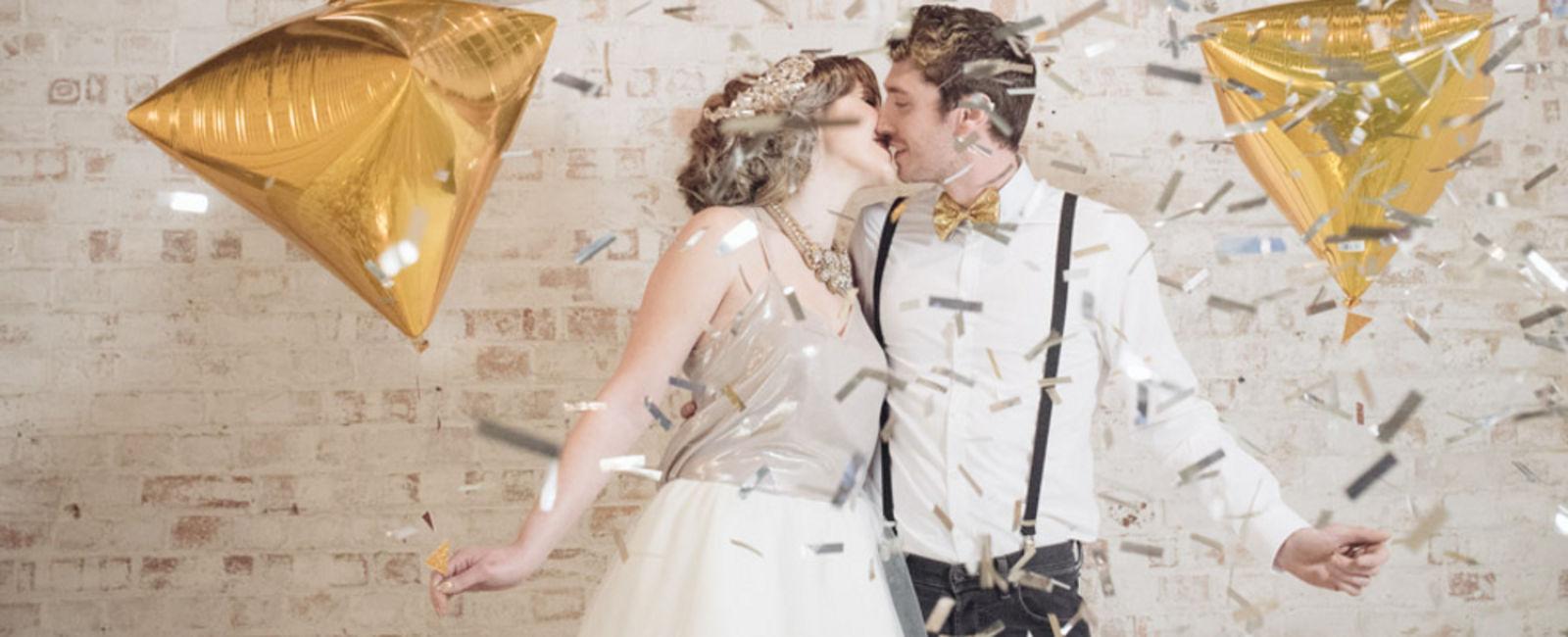 Decoratie bij trouwreportage