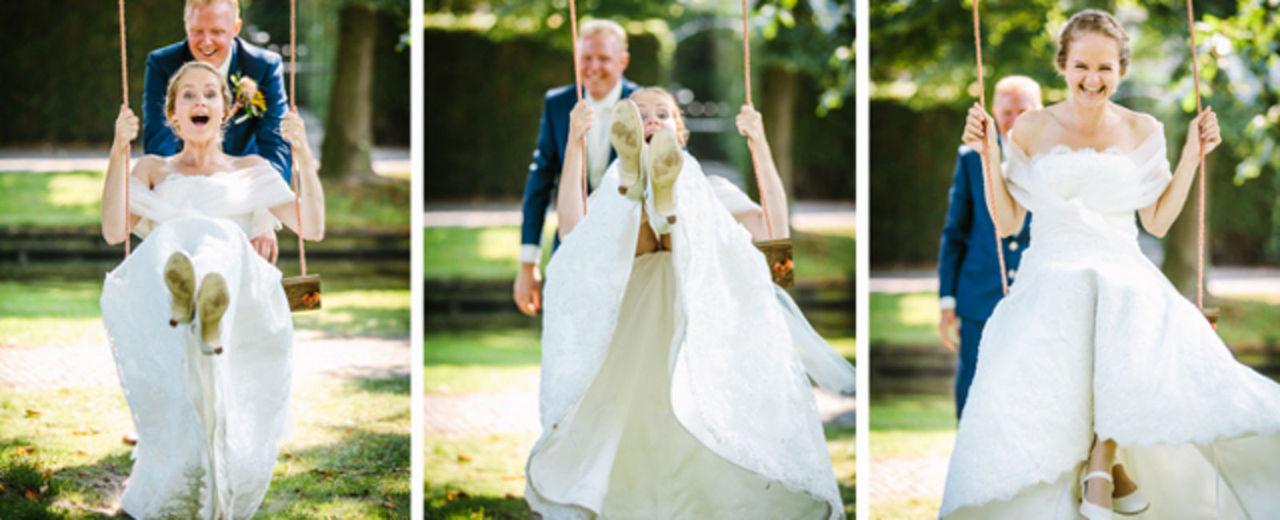 De vintage bruiloft    Huwelijk