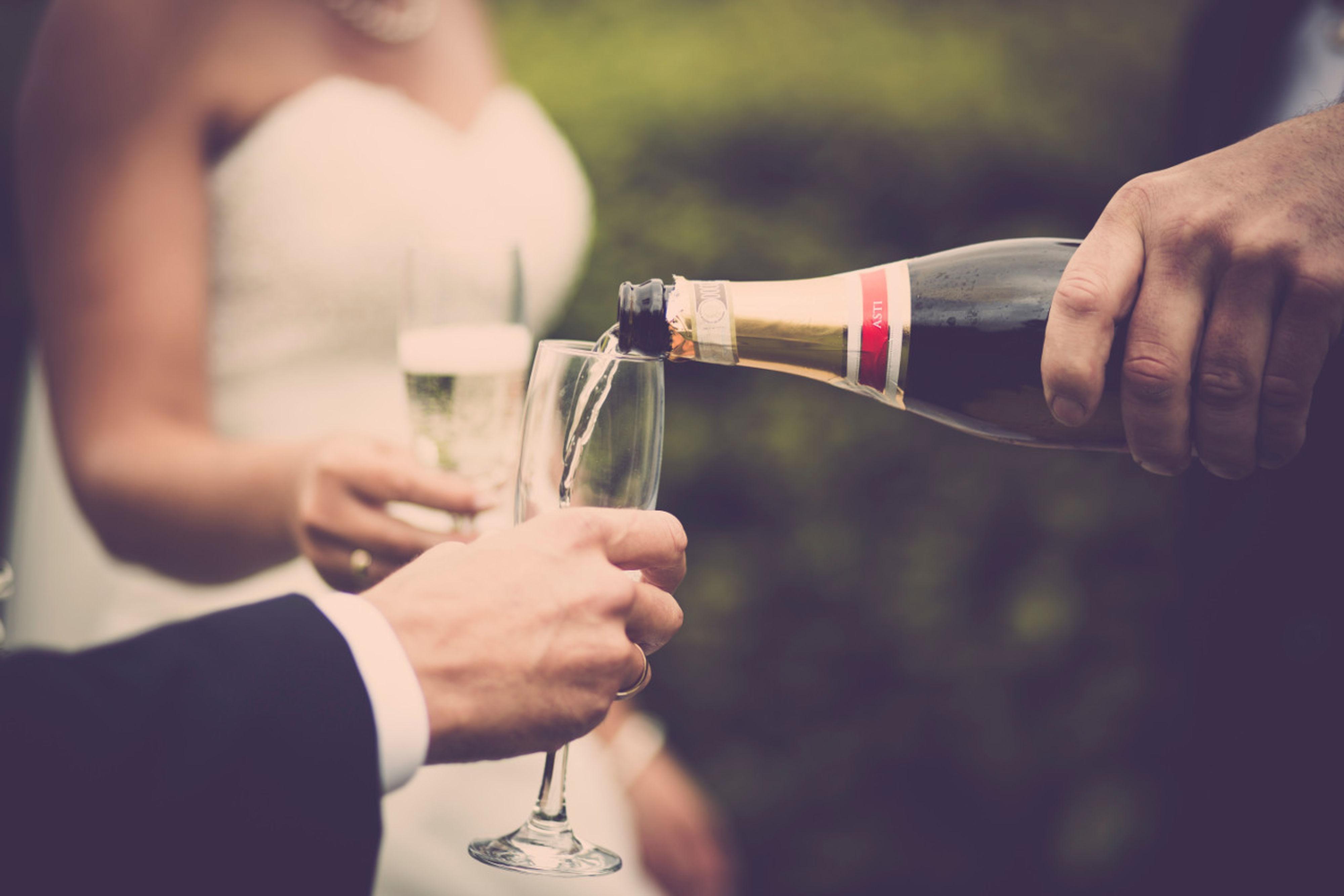 Toosten op het huwelijk