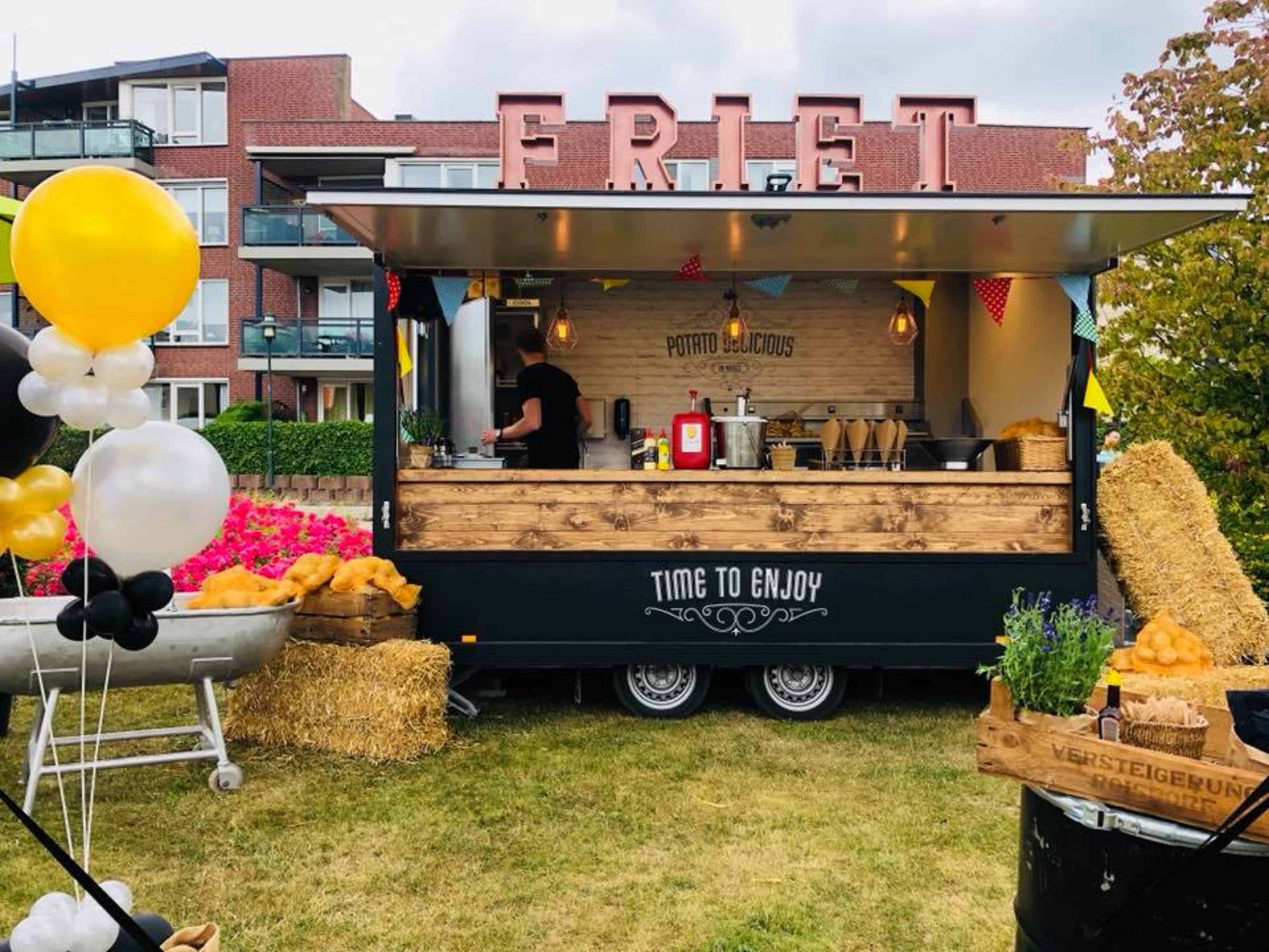 Foodtruck Bruiloft Limburg