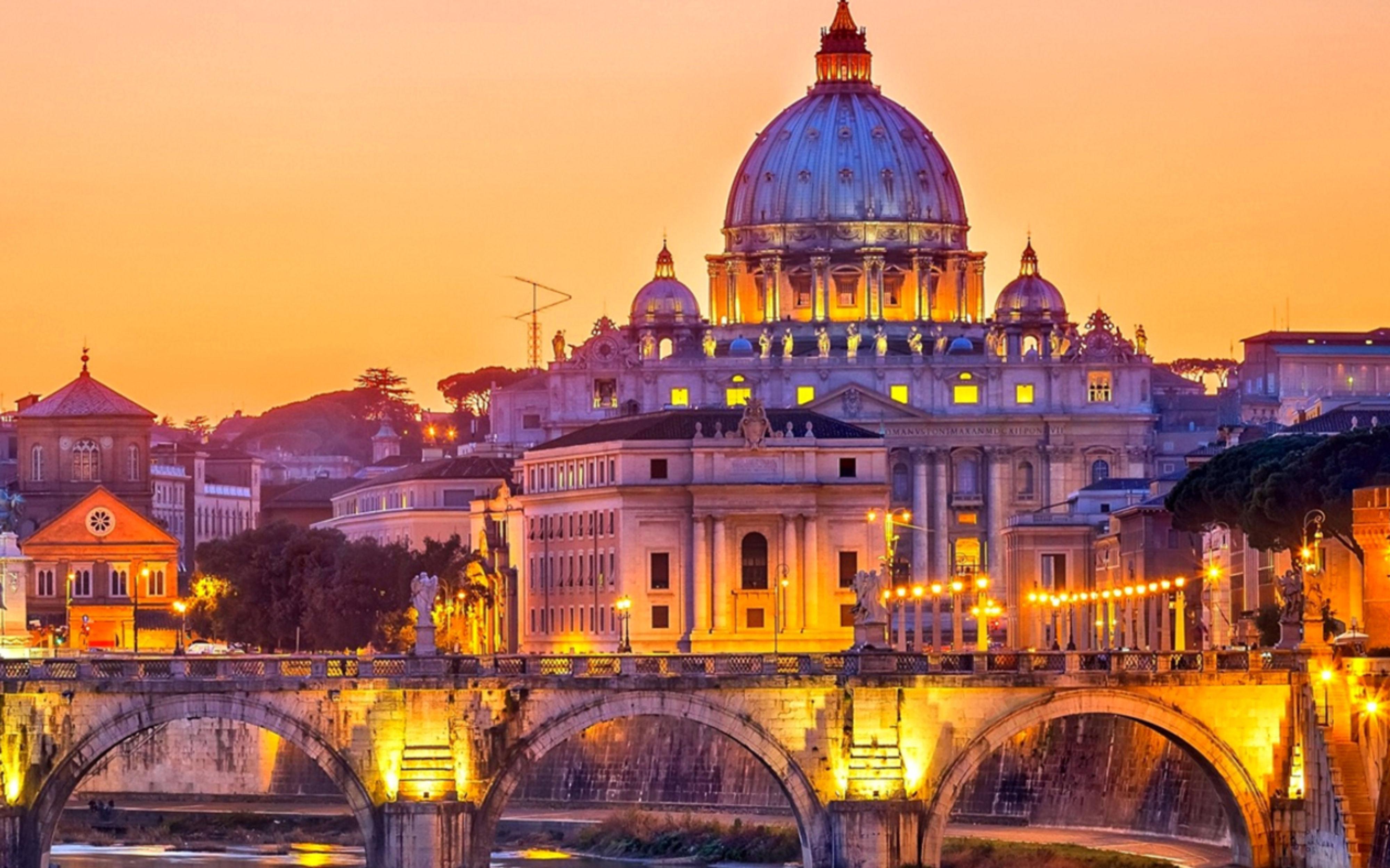 Huwelijksreis naar Rome
