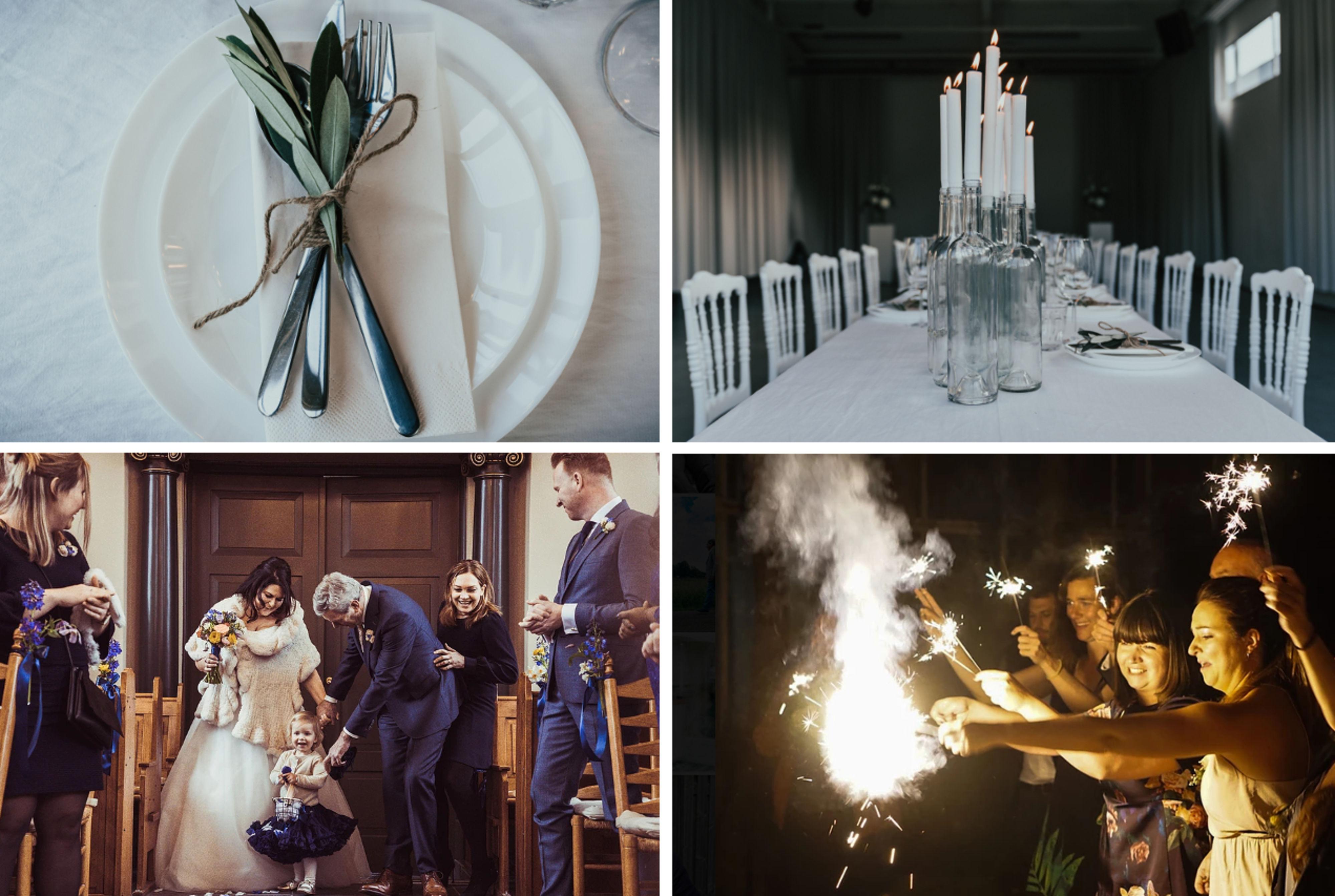 Decoratie Winterse Bruiloft