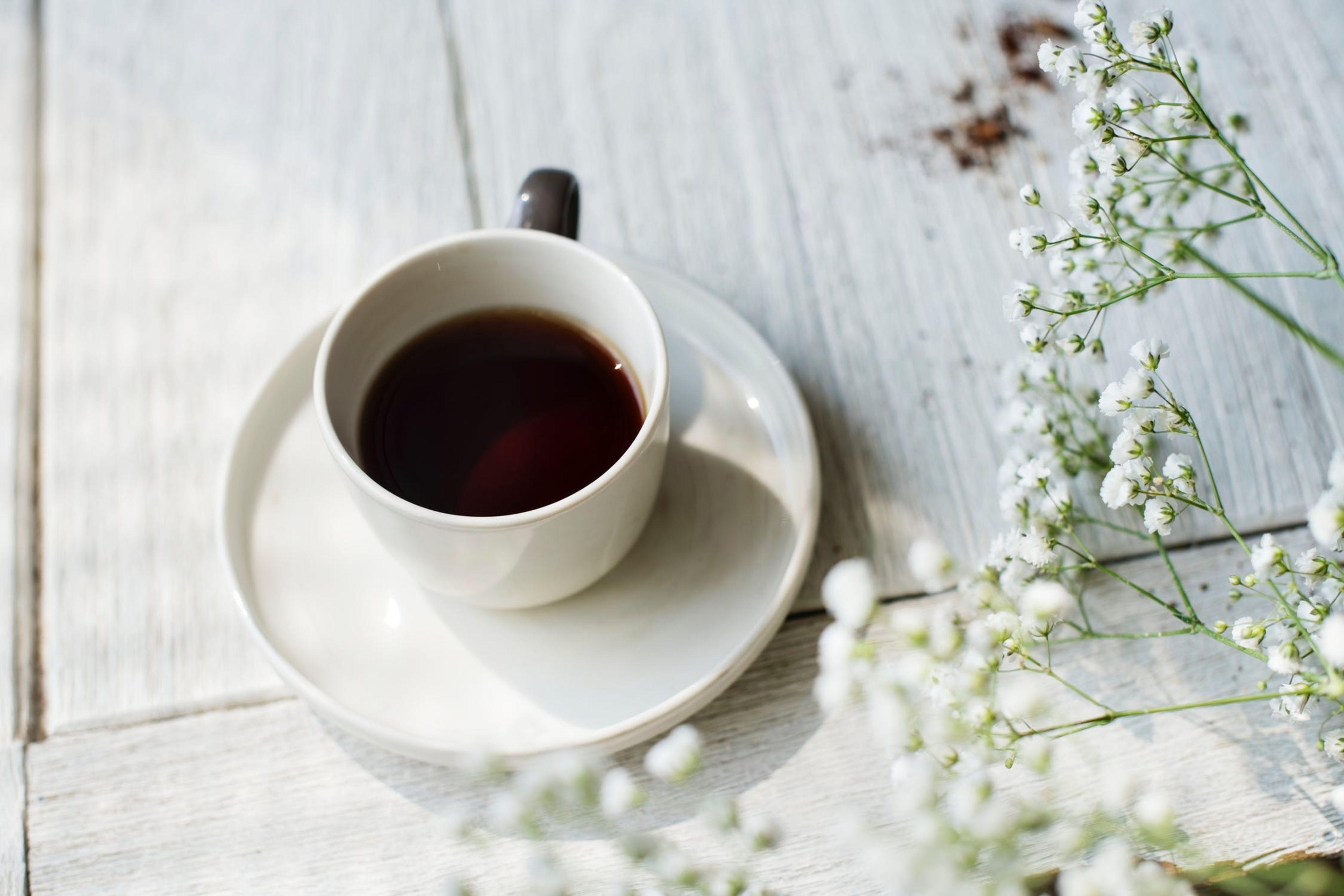 Koffie tijdens bruiloft