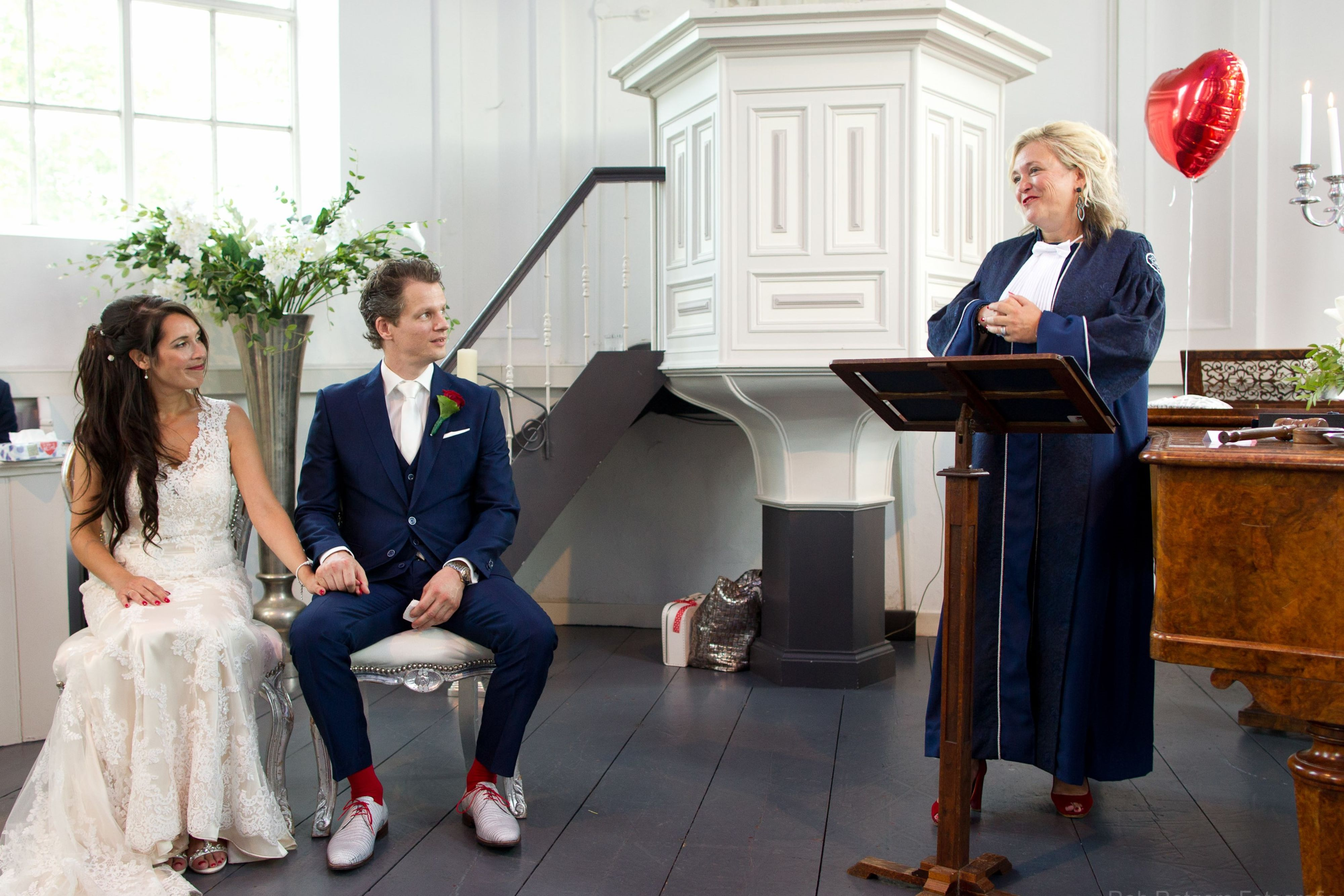 Callista van Delft huwelijk