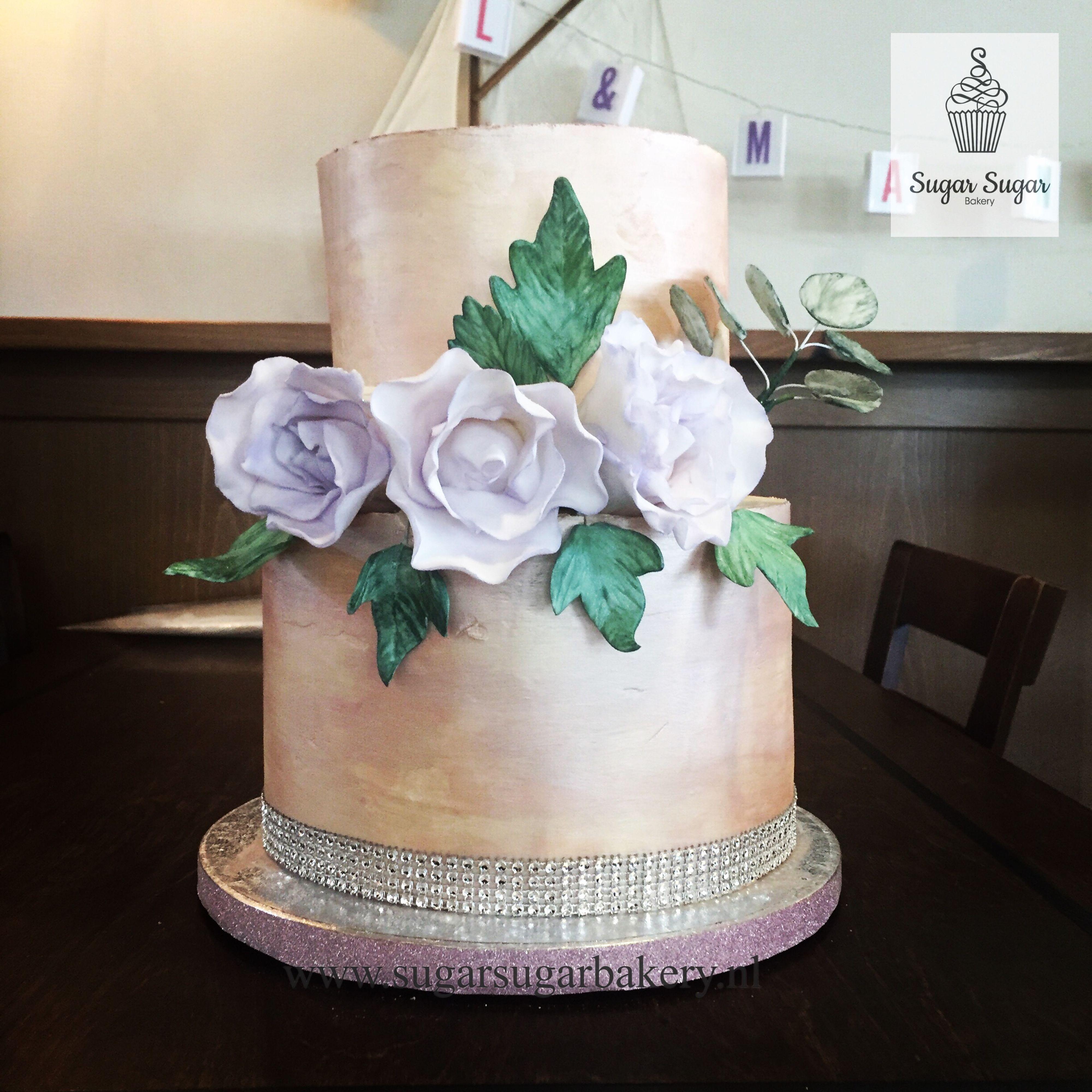 Bruidstaart van Sugar Sugar Bakery
