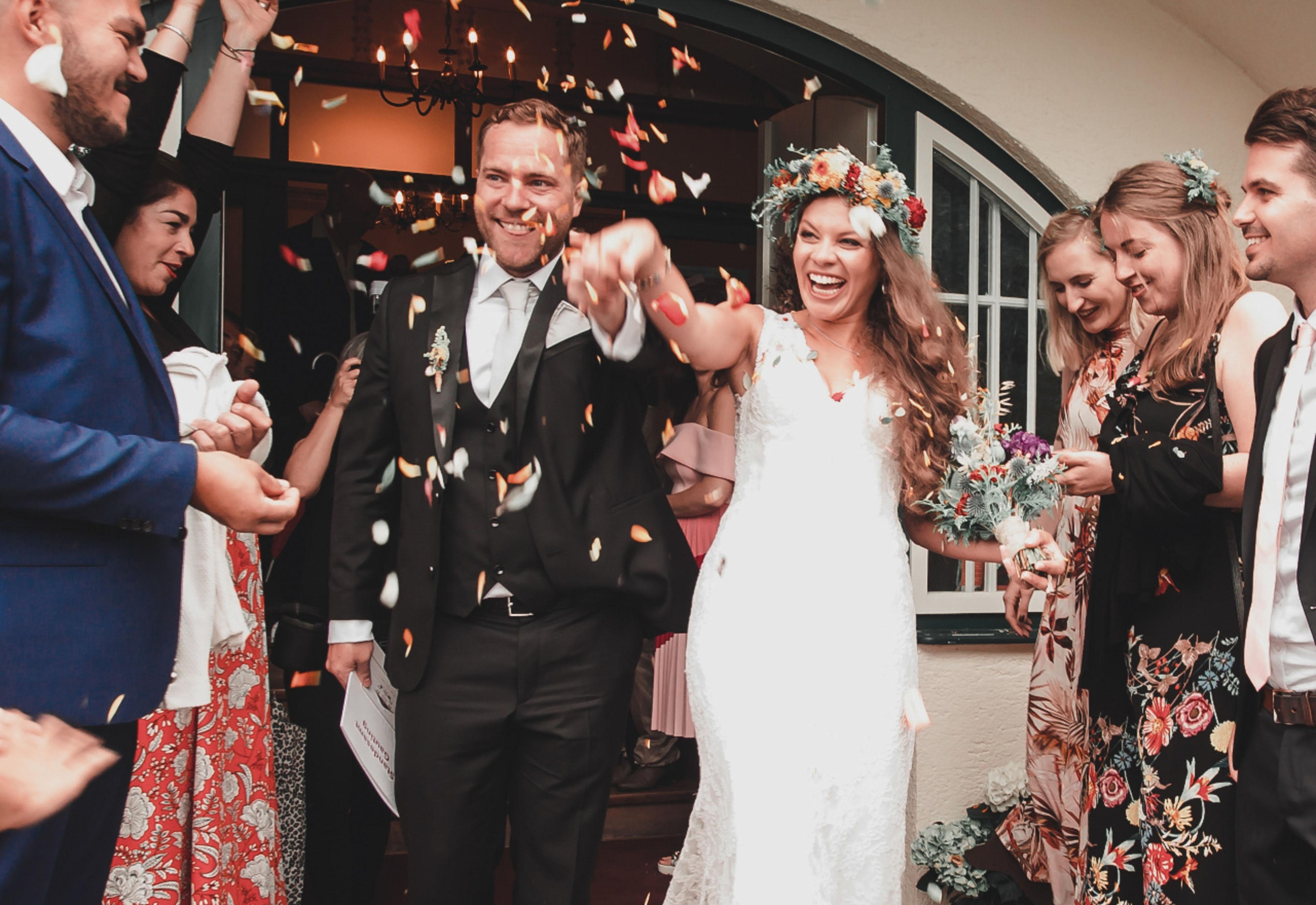 Gasten op je bruiloft