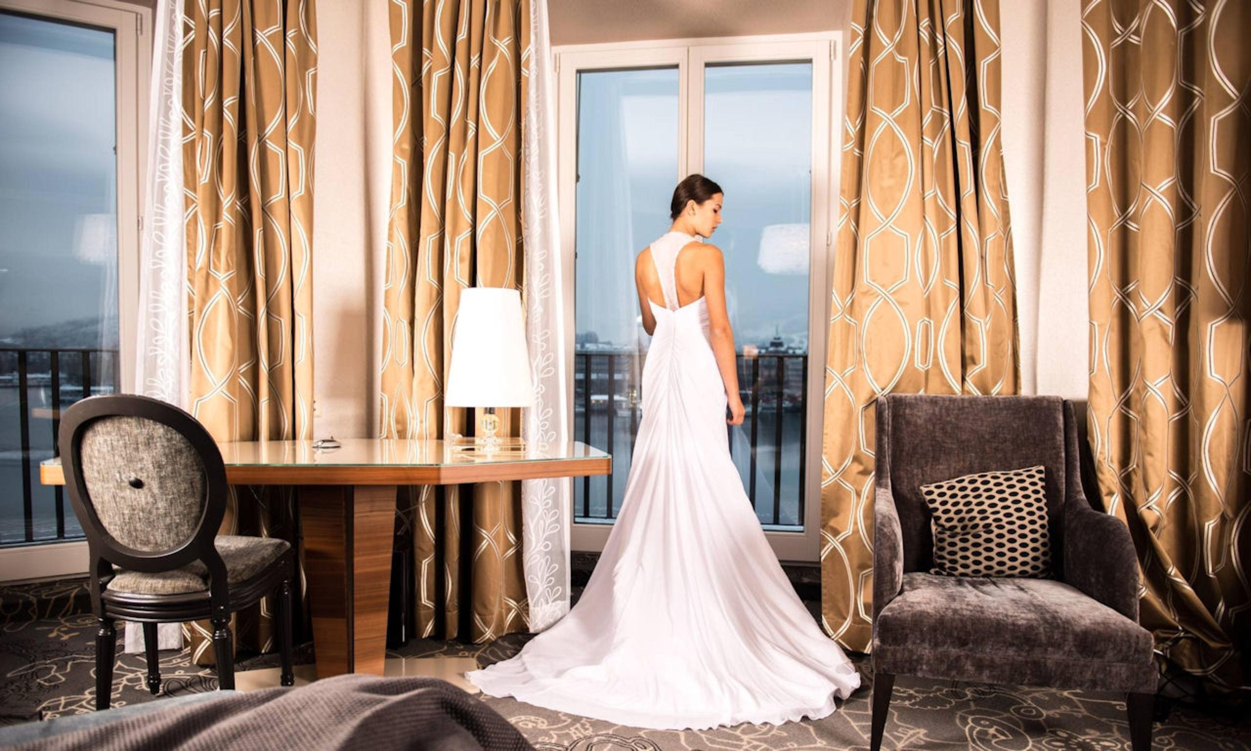 Bruidssuite met uitzicht