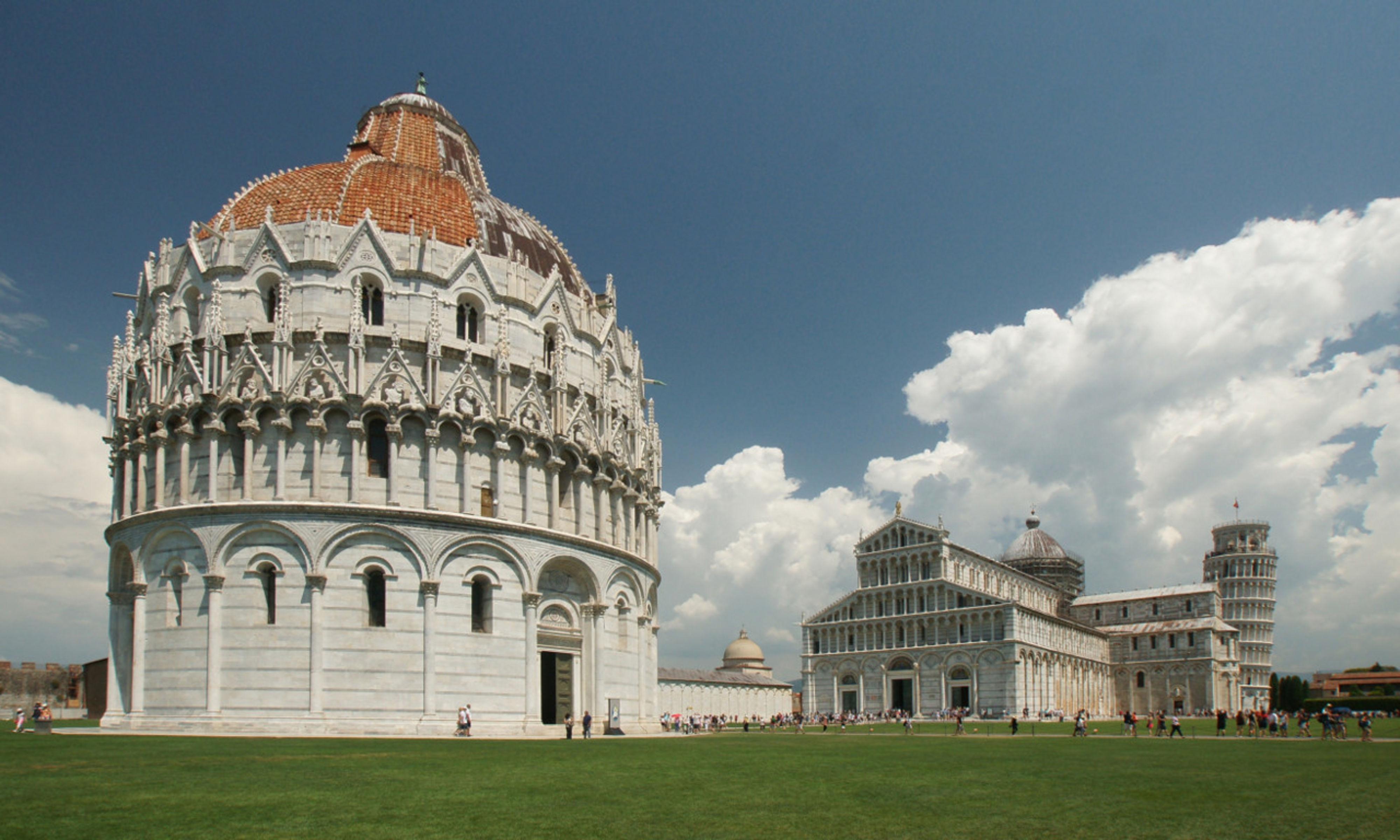 Huwelijksreis naar Pisa