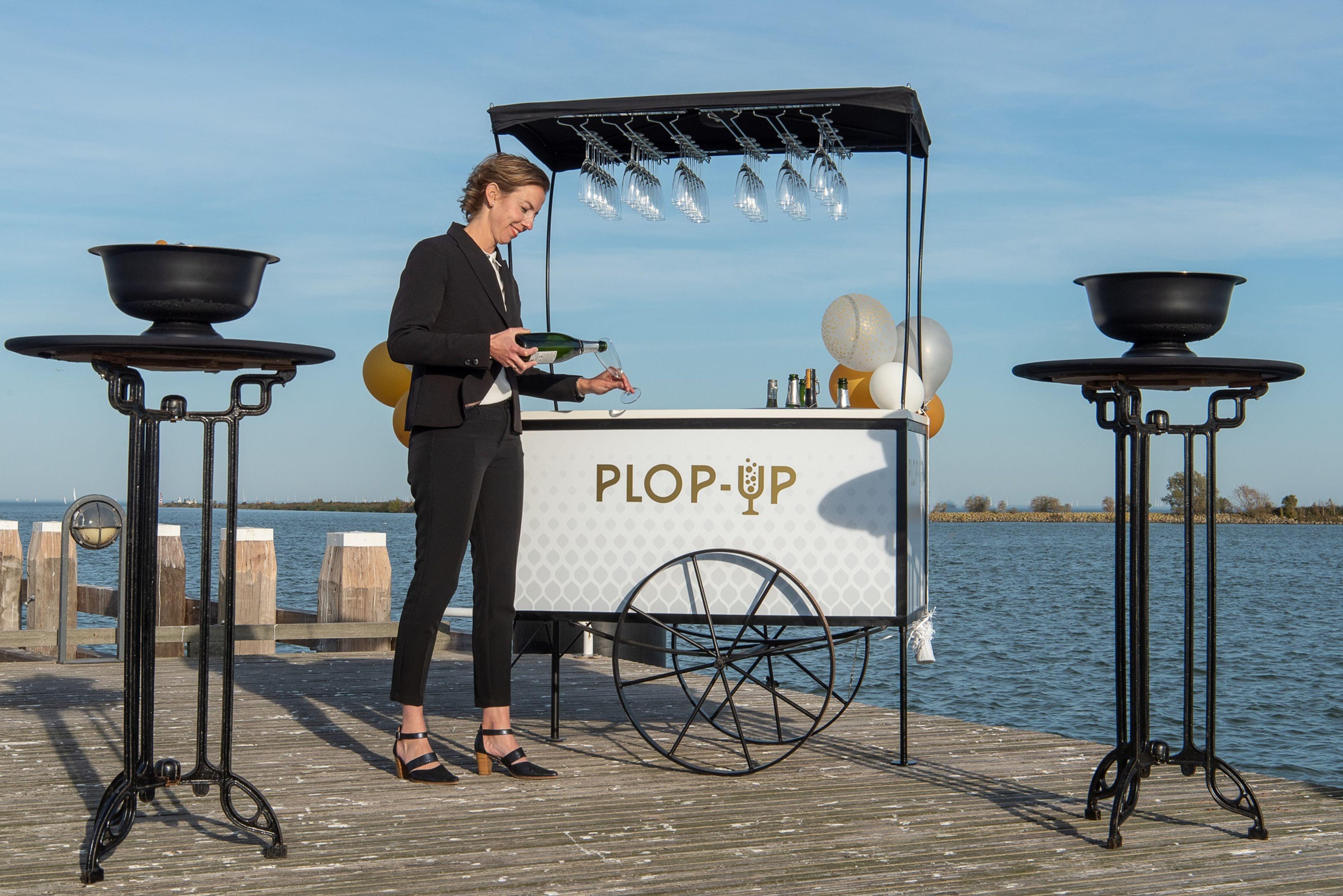 Plop-Up Champagnebar Enkhuizen