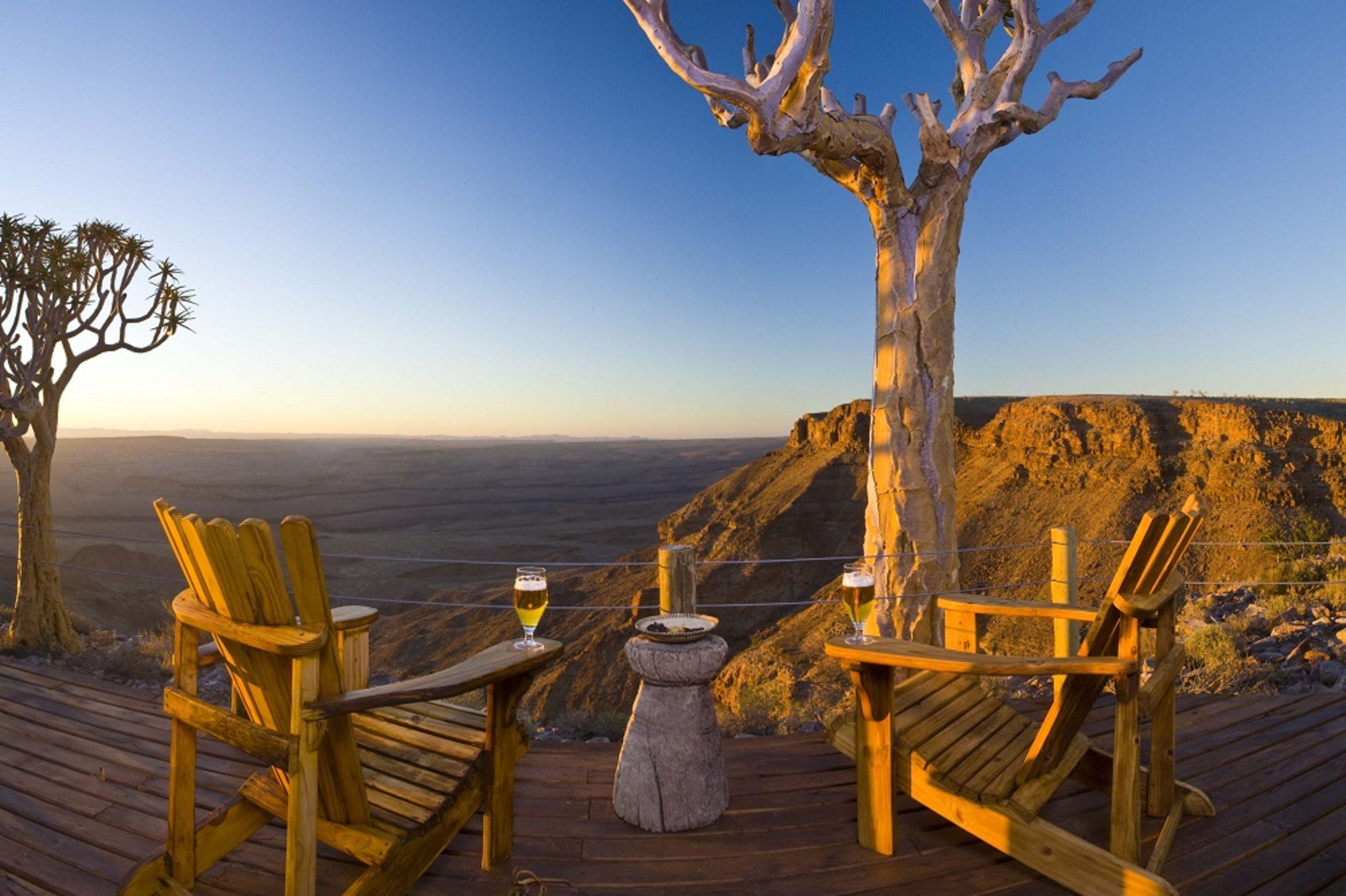 Huwelijksreis naar Namibië