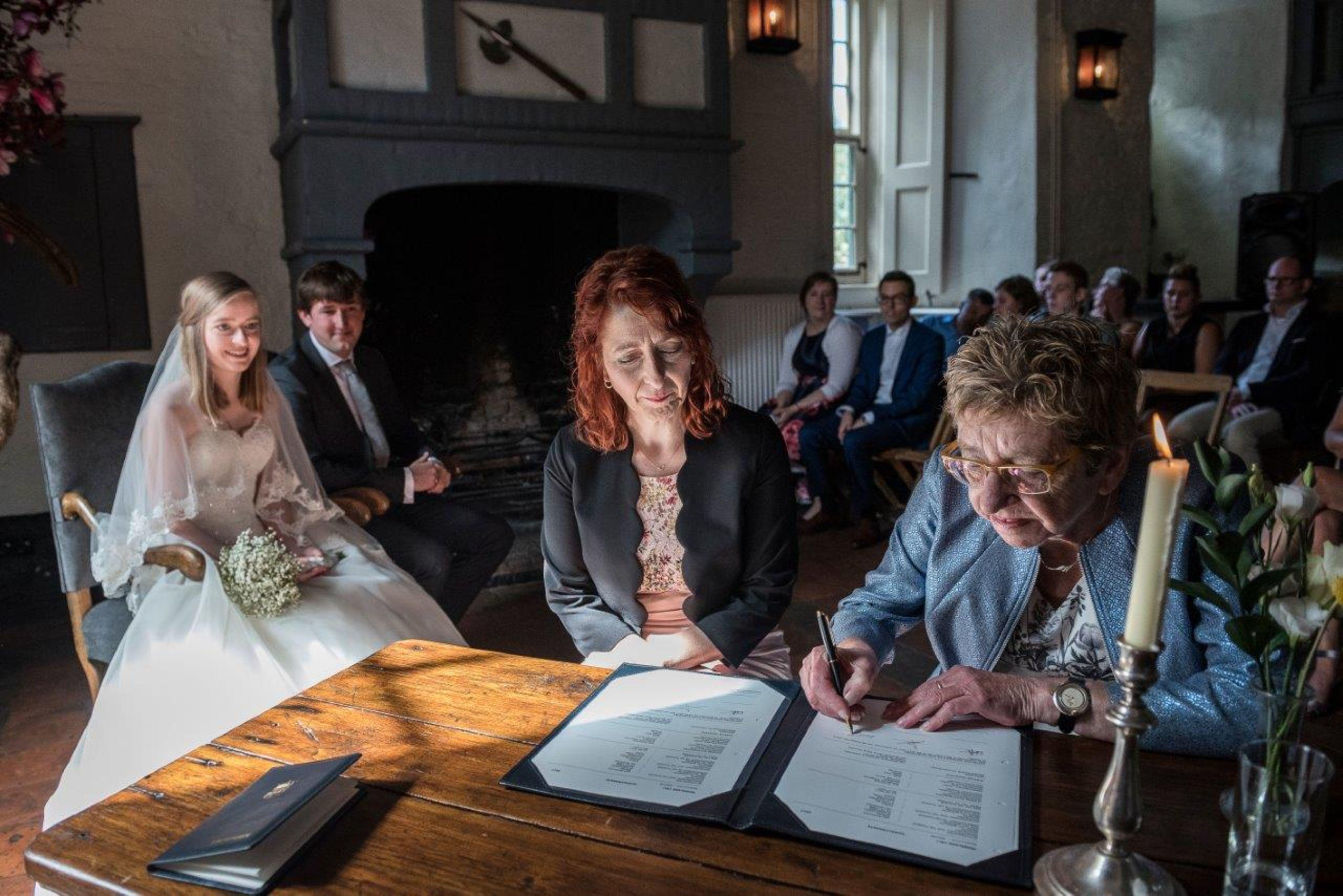 Getuigen bij huwelijk