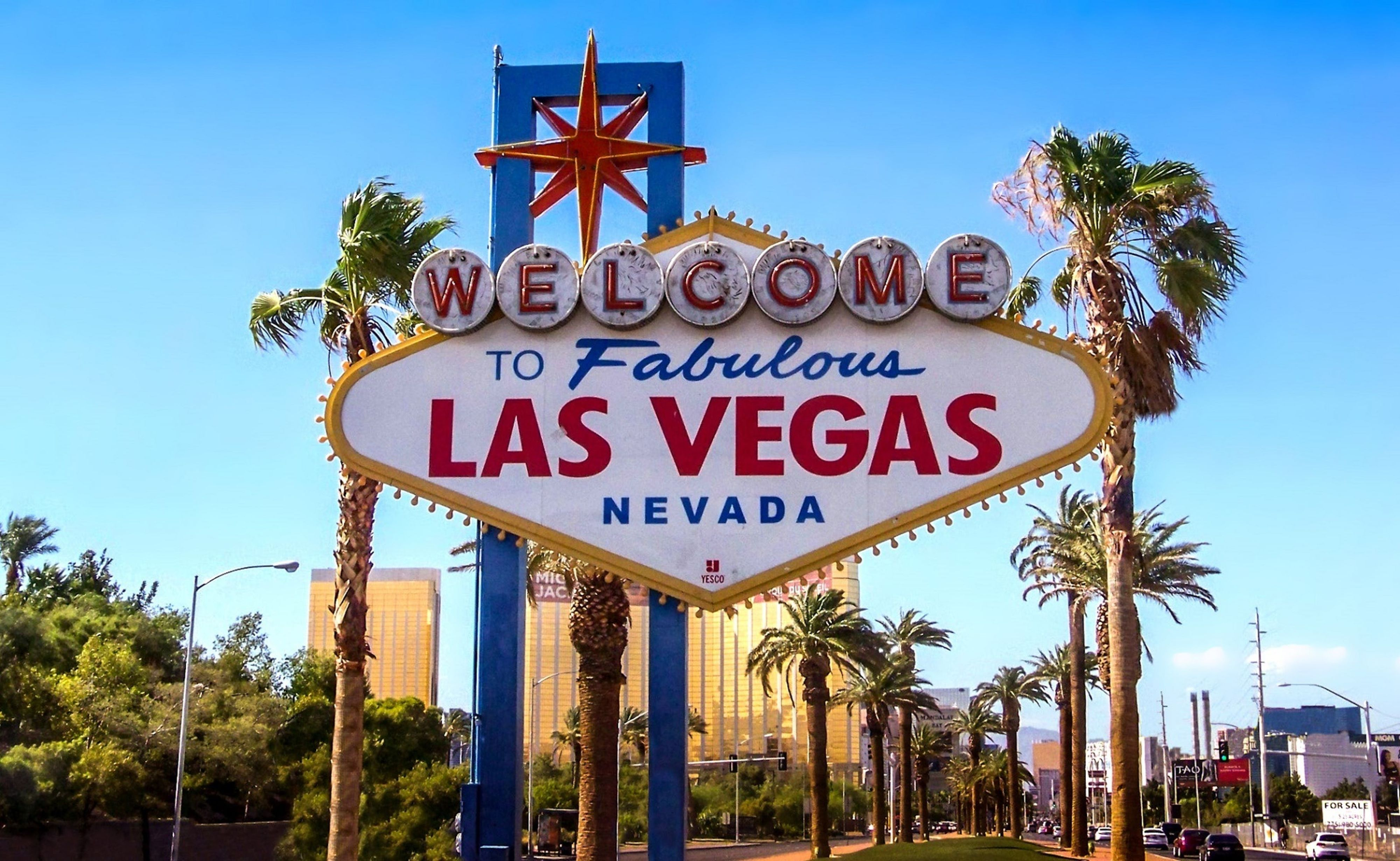 Huwelijksreis naar Las Vegas