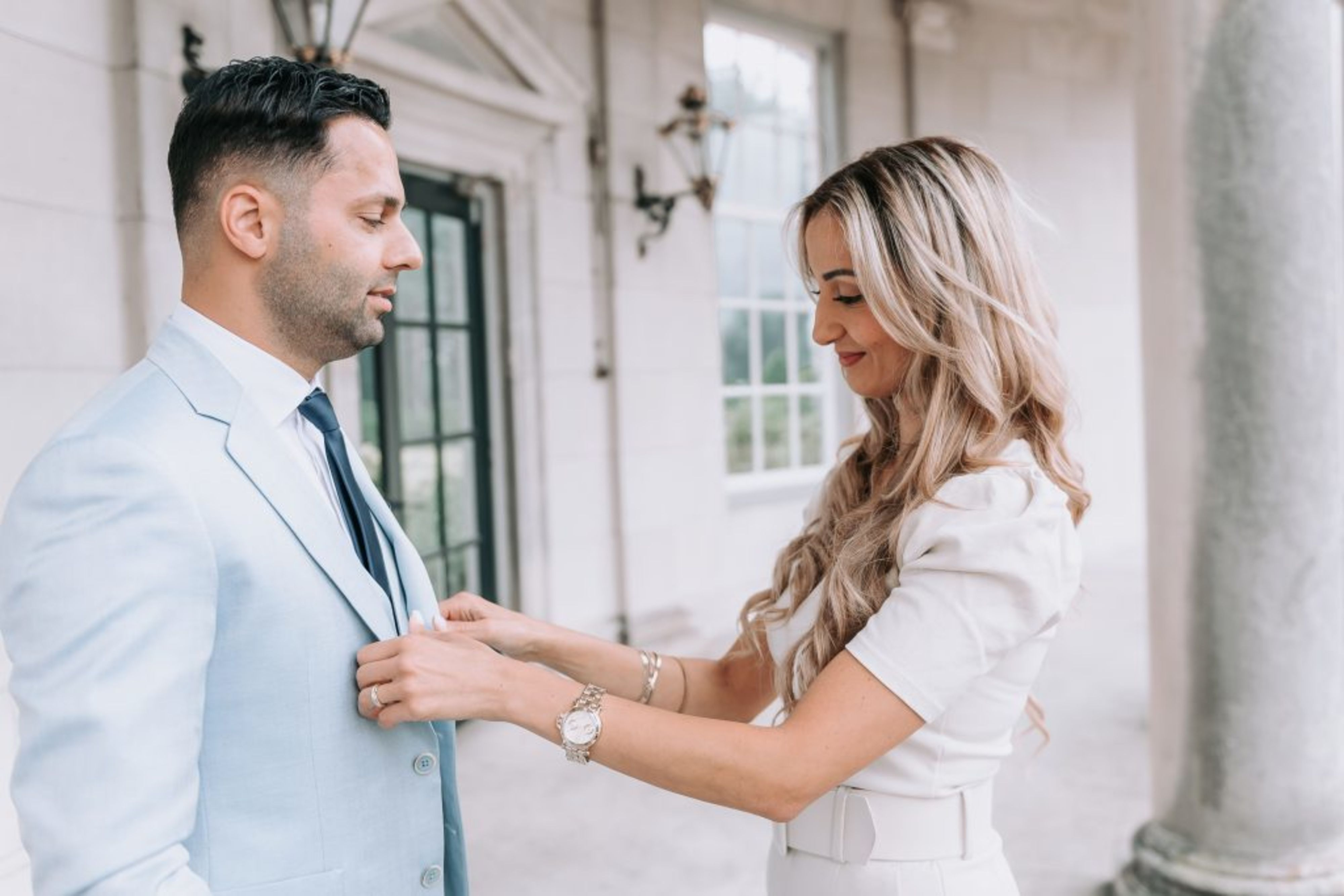 Alberto Axu trouwpak mannen