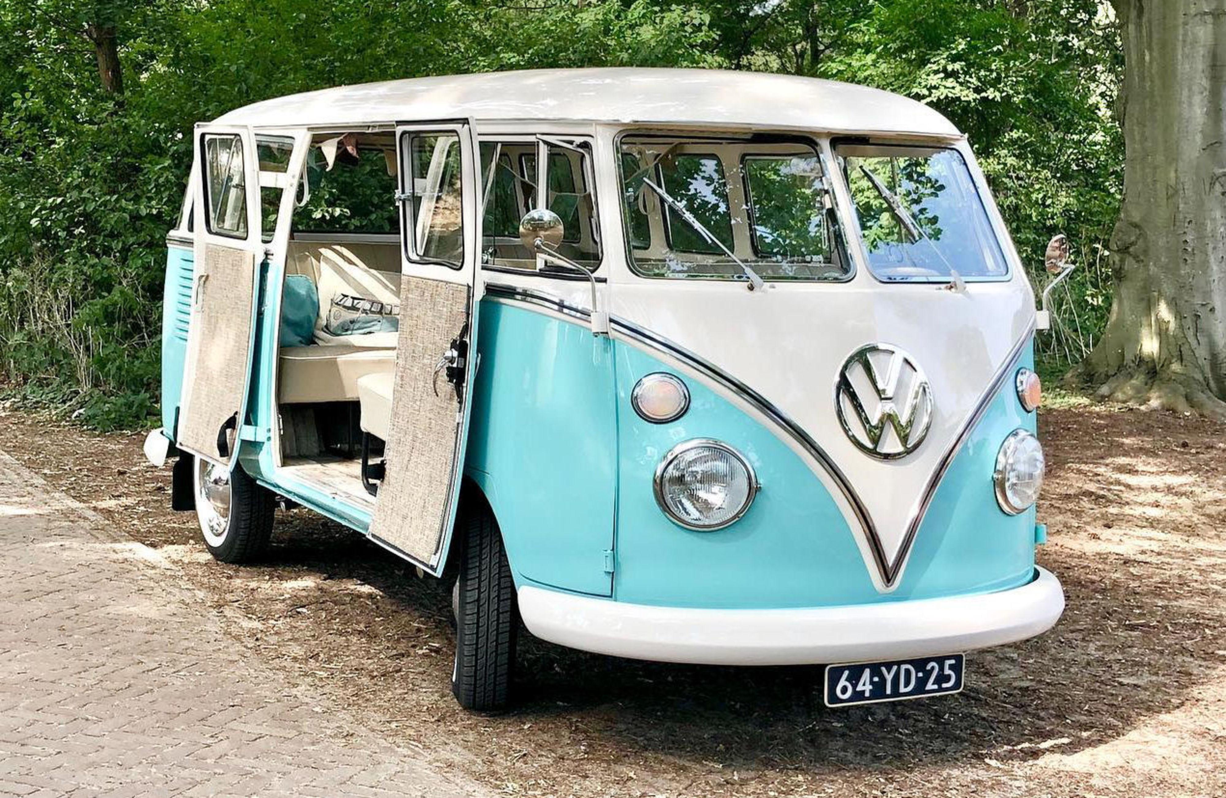 Trouwen in een VW busje
