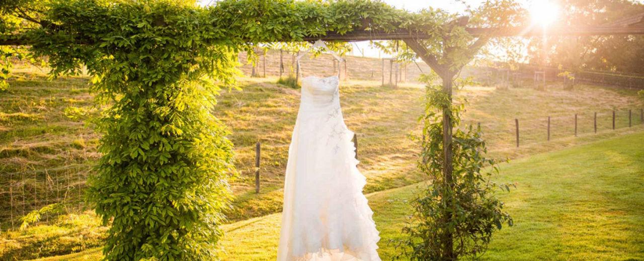 Je Trouwjurk Aan De Wilgen Huwelijk